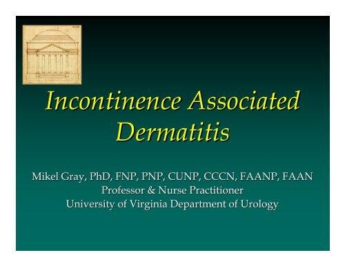 Incontinence Associated Dermatitis