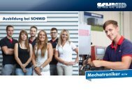 Mechatroniker m/w - SCHMID Group