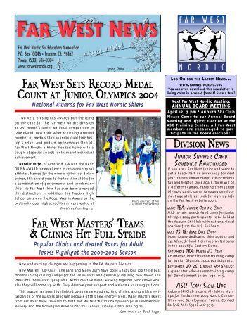 FarWestNews 4-04 - Far West Nordic