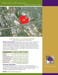 Outlets at cleveland - The City of Garfield Heights