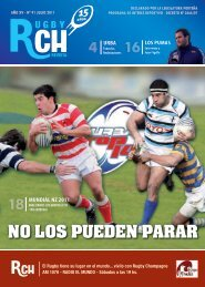 Link a la Revista RCH de Julio 2011 – N 91 - Rugby Champagne Web