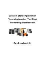 Standortpromotion Technologieregion - Region Werdenberg
