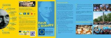 Téléchargez une brève présentation du CERS - Centre européen ...