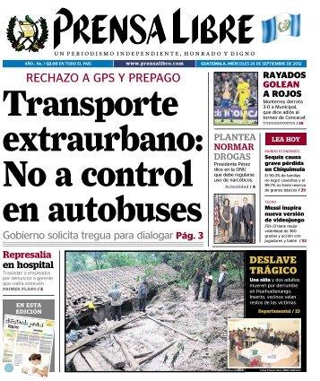 PDF 26092012 - Prensa Libre