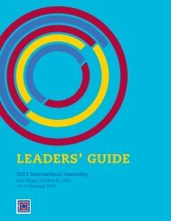 Guia para dirigentes de capacitacion - Rotary International