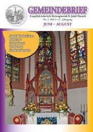 GEMEINDEBRIEF - Kirchenkreis Winsen