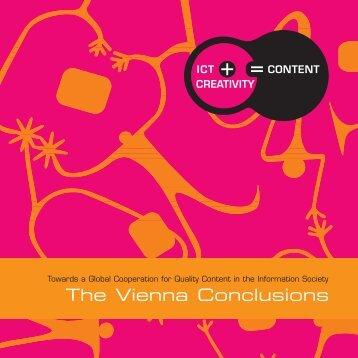 Vienna Conclusions