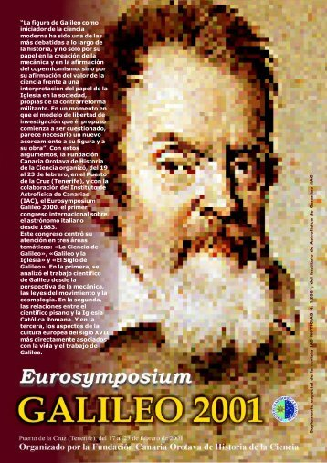 La figura de Galileo como - Instituto de Astrofísica de Canarias