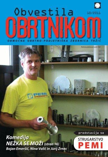Obvestila oktober november 2011 - Območna obrtno-podjetniška ...
