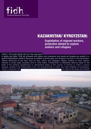 kazakhstan/ kyrgyzstan - Office of the High Commissioner on Human ...