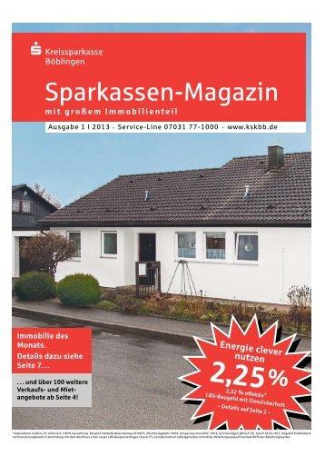 Sparkassen-Magazin - Kreissparkasse Böblingen