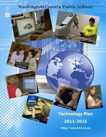 Technology Plan 2011-2016 - Washington County Public Schools