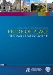 Heritage Strategy 2011-14 - Rhondda Cynon Taf