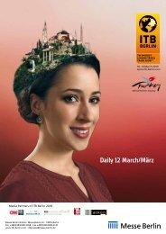 Daily 12 March/März - ITB Berlin