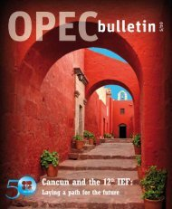 May edition of the OPEC Bulletin