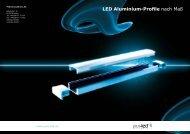 LED Aluminium-Profile nach Maß - Pur-LED