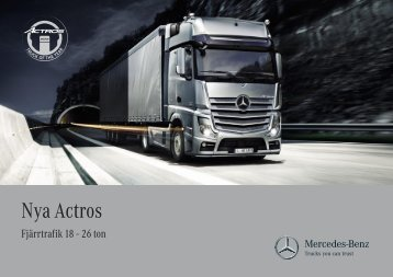 Nya Actros - Mercedes-Benz