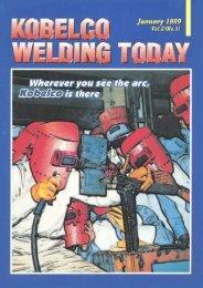 Kobelco Welding Today Vol.2 No.1 1999