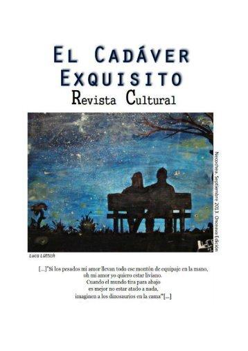 El Cadáver Exquisito - 11 º Edición - Septiembre 2013