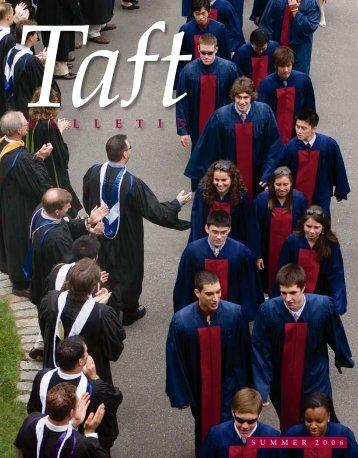 B U L L E T I N - The Taft School