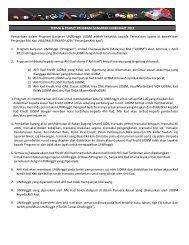 TERMA & SYARAT PROGRAM GANJARAN UNIRINGGIT 2013 ...