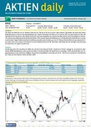 Die kompakte Analyse für Trader