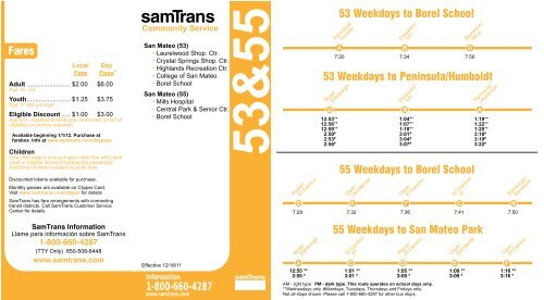 Schedule and Route Map (PDF) - SamTrans on key system route map, caltrain route map, greyhound route map, septa route map, bus route map, vta route map, valley metro route map, dart route map, metro transit route map, omnitrans route map, thebus route map, amtrak route map, foothill transit route map, golden gate transit route map, ac transit route map, anaheim resort transit route map, san francisco route map, mtc route map, glendale beeline route map, smart route map,