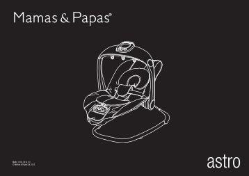 MABC_0193_0412_V3 © Mamas & Papas Ltd. 2012