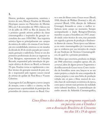 MOACyR FENElON - Instituto Moreira Salles