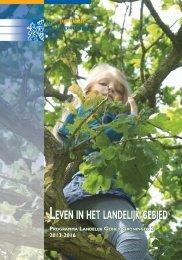 LEVEN IN HET LANDELIJK GEBIED - Provincie Groningen