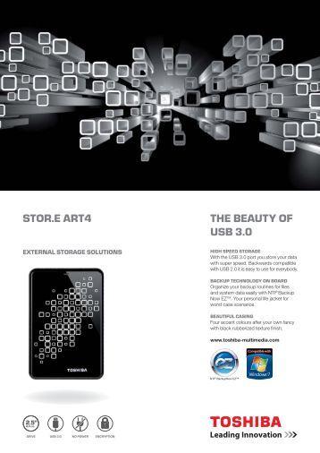 Download the STOR.E ART 4 datasheet (PDF - Toshiba