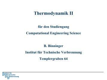 Kapitel 6 (pdf) - Institut für Technische Verbrennung