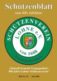 schuetzenblatt 2008.pdf - Schützenverein Lohne eV von 1608