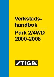 Verkstads- Park 2/4WD 2000-2008 handbok