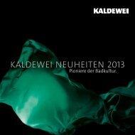Kaldewei NeuheiteN 2013