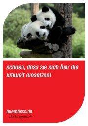 Umweltbroschüre 2014 - bueroboss.de