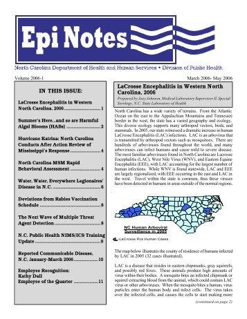 Hurricane Katrina - Epi