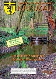Amtsblatt Nr. 04/2008 vom 25.04.2008 - Gemeinde Kreuzau