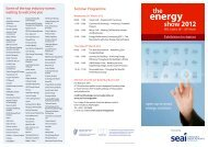 Seminar Programme Some of the top industry names ... - FibreLED