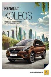 drive the change - Renault Zürich SA