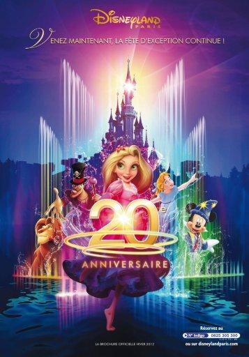 coordonnées au dos de cette brochure - Disneyland® Paris