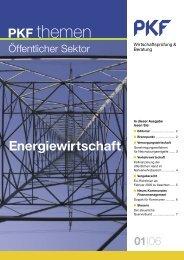 Heft 1 05/2006 Energiewirtschaft - PKF