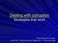Anti-Corruption Initiative - Repoa