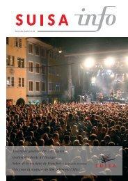 Assemblée générale 2005 à Lugano Gestion des droits à l ... - Suisa