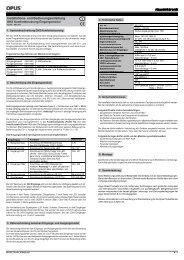 Eingangsmodul (Art.-Nr. 561.501) - OPUS Schalter