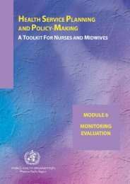 Module 6 - Monitoring and evaluation pdf, 490kb
