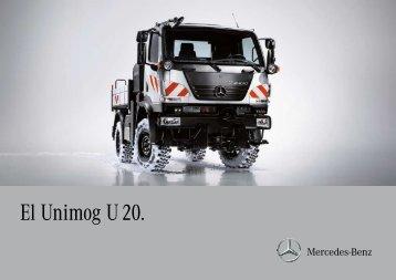 El Unimog U 20. - Mercedes-Benz