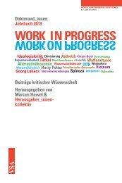 work in progress - Rosa-Luxemburg-Stiftung