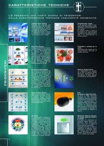 caratteristiche tecniche frigoriferi - Kasatua.com