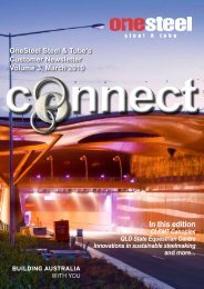 OneSteel Steel & Tube's Customer Newsletter Volume 3, March ...